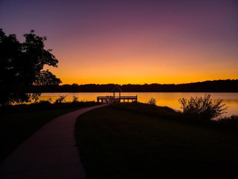 Chalco sunset
