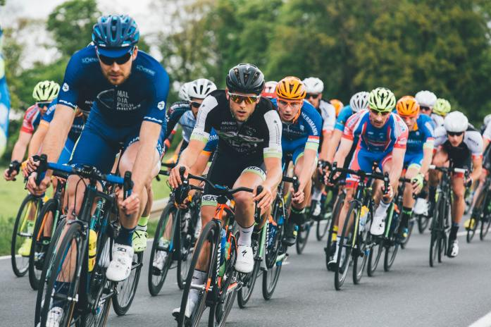 Bicycling road race