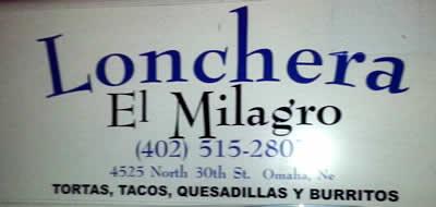 Lonchera El Milagro Food Truck