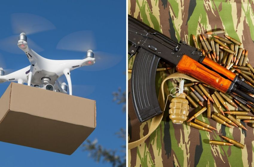 Consignment including AK assault rifle, three magazines, 30 rounds, a telescope dropped By Pakistani Drone In Jammu