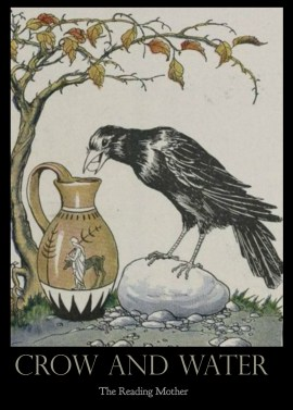 Crow and Water | thereadingmother.net