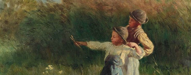 """Martin Cothran on Boys and Books: """"Fleeing These Modern Aunt Pollys"""""""