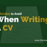 cv mistakes to avoid