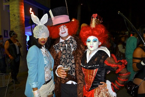 thereafterish, lady gaga white rabbit halloween costume, alice in wonderland costumes