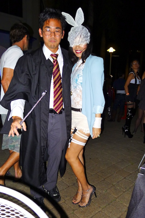 thereafterish, lady gaga white rabbit, harry potter costume