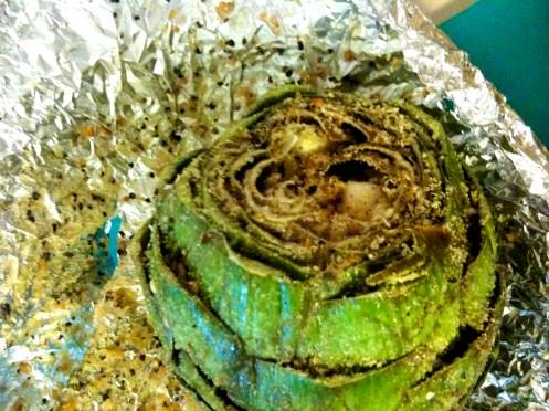 easy summer recipe grilled seasoned artichokes