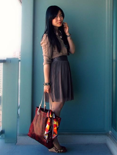 Toronto Style, Toronto Fashion, Monochromachic