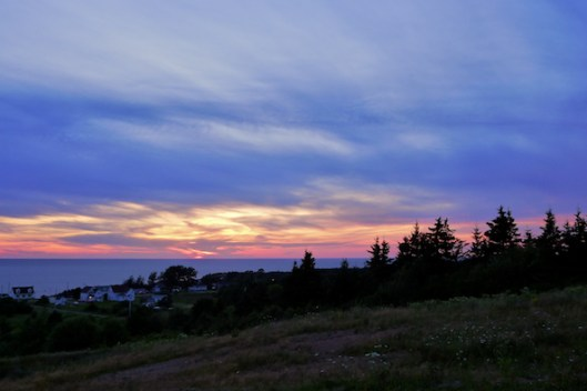 Cape Breton, Port Hood Place, Port Hood, Cape Breton Sunset