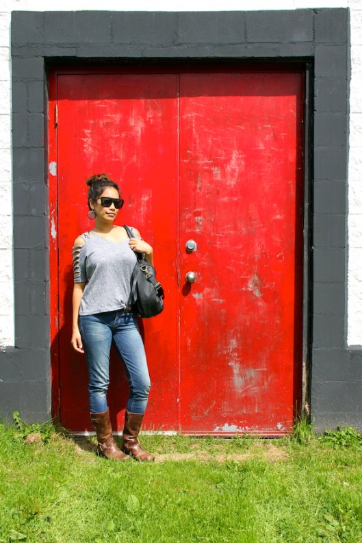 Cape Breton, Glenora Distillery, Red Door, OOTD