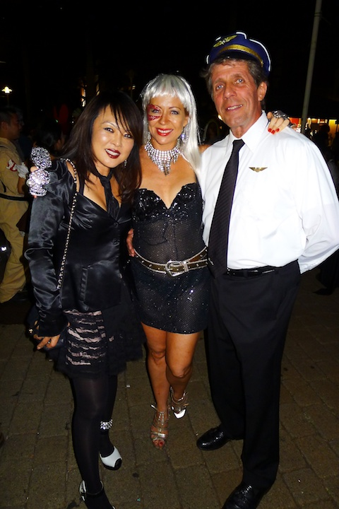 thereafterish-alohthereafterish, Aloha Tower Halloween Party, Kpop Costume, Lady Gaga Costume, Pilot Costume