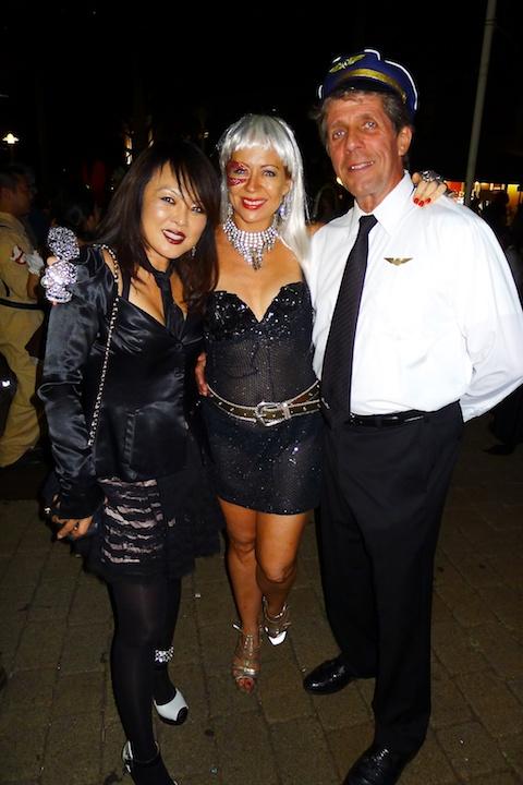 thereafterish-alohthereafterish, Aloha Tower Halloween Party, Kpop Costume, Lady Gaga Costume, Pilot Costume