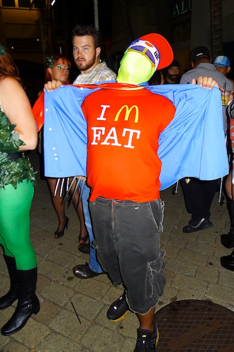 thereafterish, Aloha Tower Halloween Party, I'm Fat costume