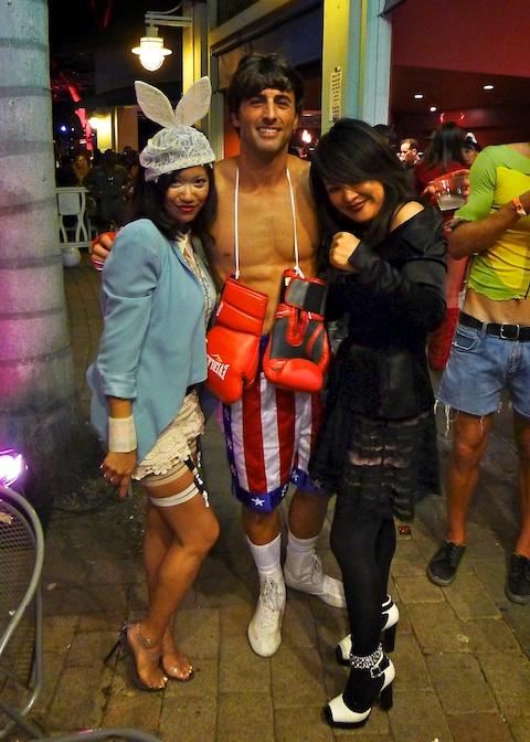 thereafterish, Aloha Tower Halloween Party, Rocky Balboa Costume