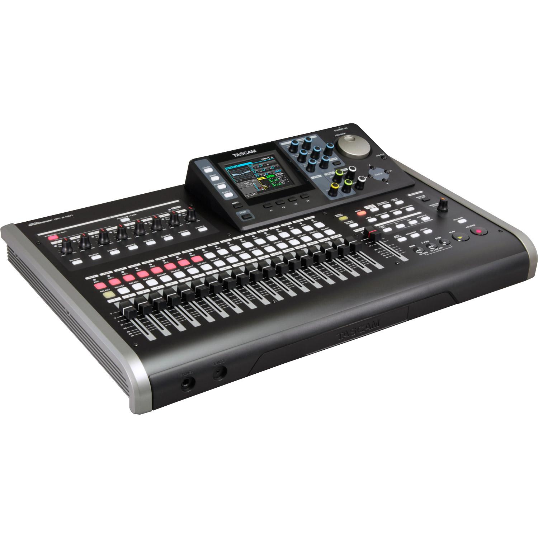 Tascam 24 Track Portable Recording Studio W 8 Track