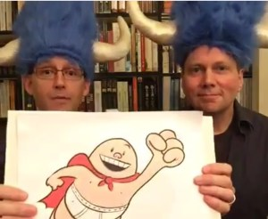 Brad Meltzer and Captain Underpants