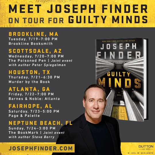 Joe Finder Guilty Minds book tour.jpg