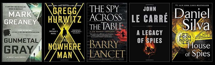 Book Spy Best Spy Thrillers 2017