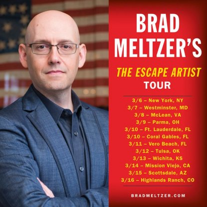 Brad Meltzer tour