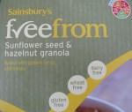 Gluten free Granola. Scrummy.