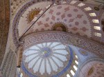 Blue Mosque ceilings