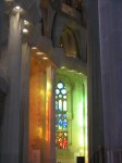 Sagrada Familia window effect