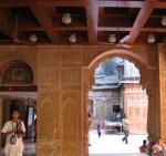 Hari Krishna temple entrance