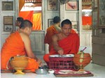 Monks in the kitchen