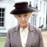 Joan Hickson as Miss Marple