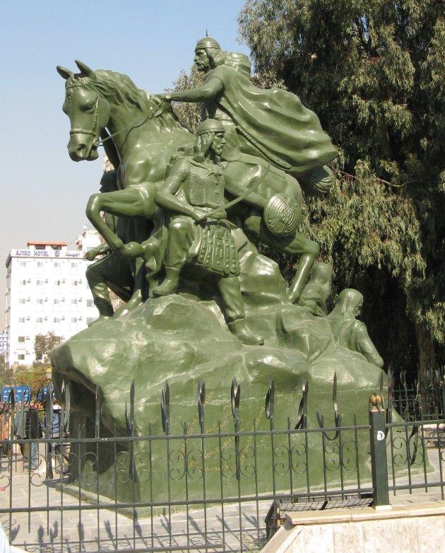 Salah Al Din Statue