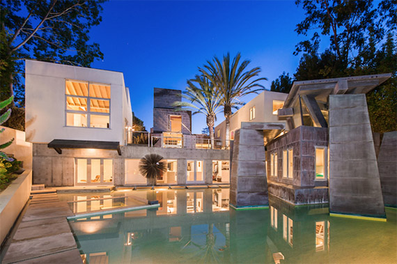 Michael LaFetra  Schnabel House  Frank Gehry