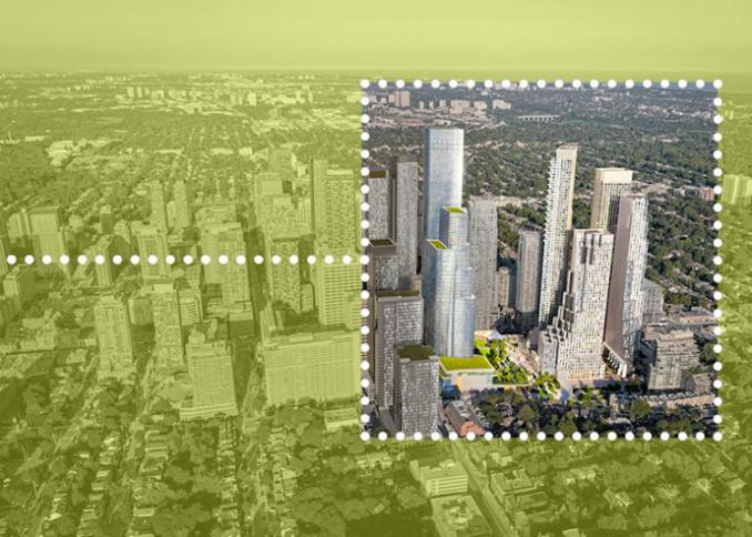 Oxford Properties Group Plans Toronto Megaproject