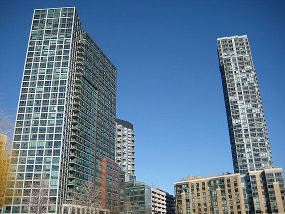 Glass Tower Apartment Buildings NYC  Urban Green Council