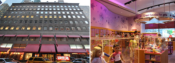 SL Green Realty American Girl Store NYC 609 Fifth Avenue