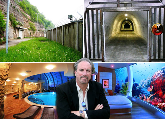 Robert Vicino  Vivos Europa One  Luxury Doomsday Bunker