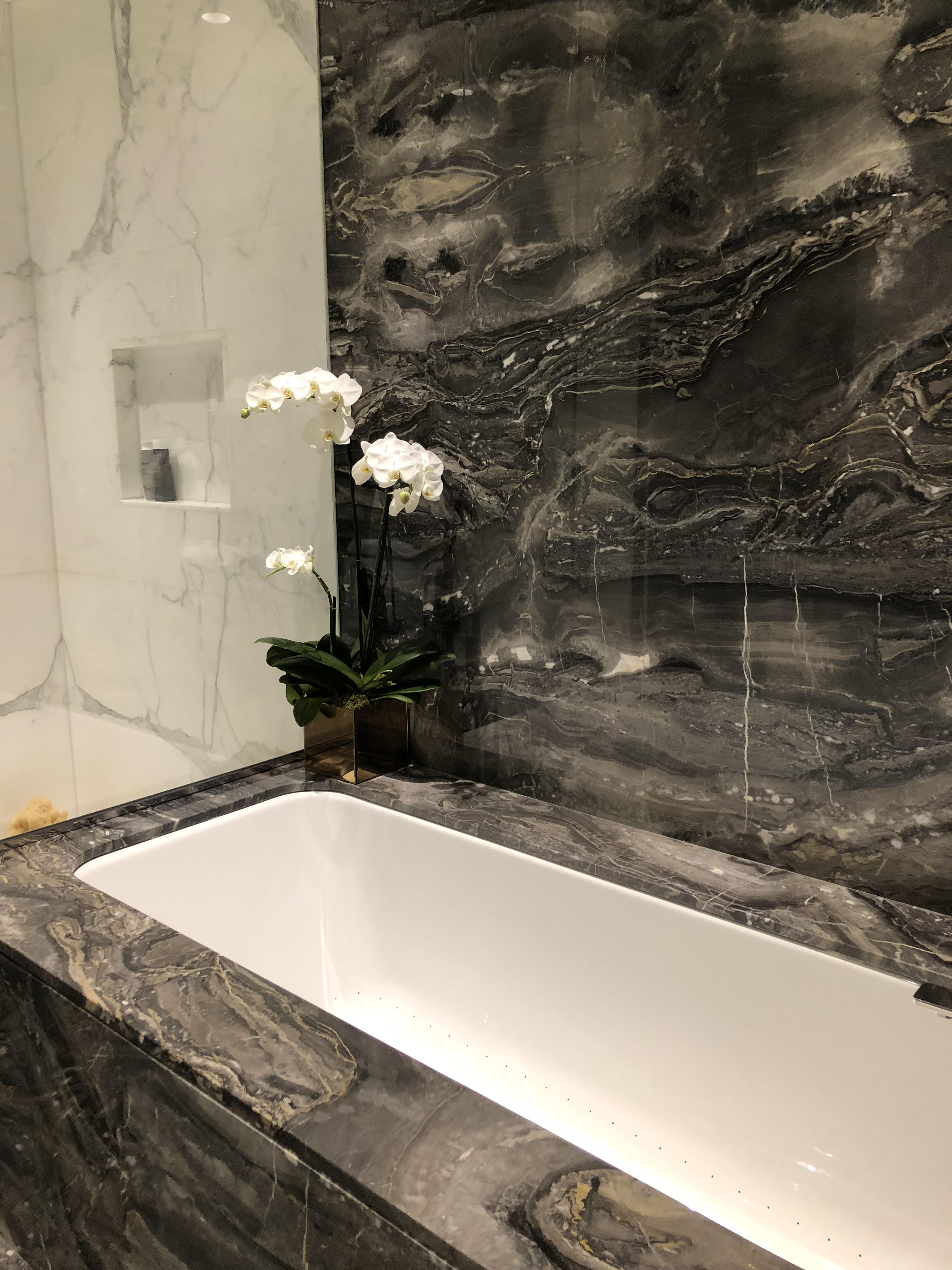 finance kitchen cabinets remodelers central park tower   extell development sales gallery
