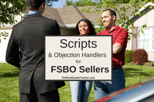 FSBO Scripts for Real Estate Agents