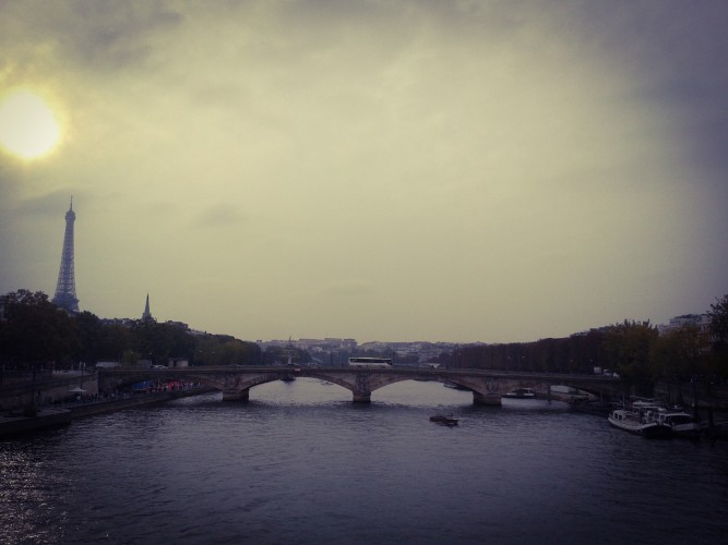 View from Pont Alexandre