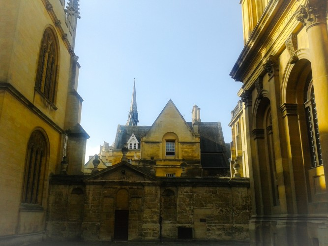 View from Sheldonian Theatre, Oxford