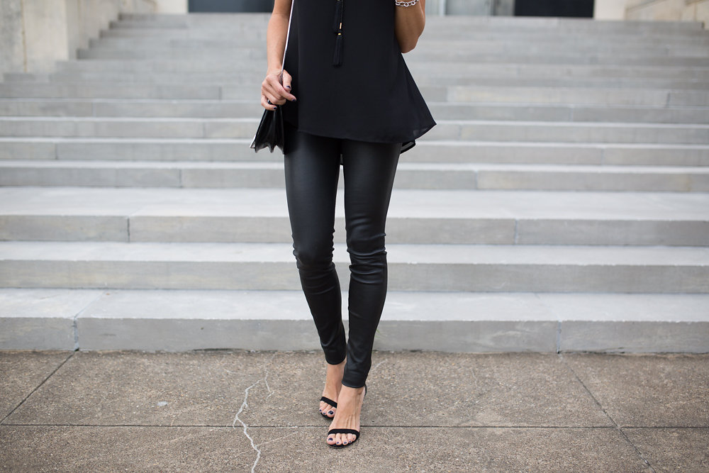 06a6b3454 Head to toe black for a fall night out