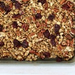 Cherry Pecan Granola with Quinoa