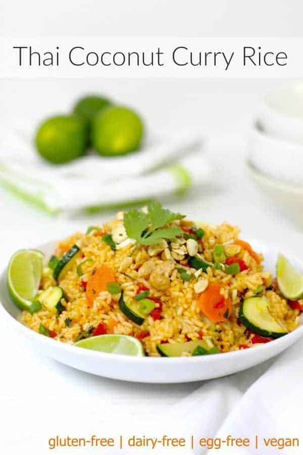 Thai Coconut Curry Rice - The Real Food Dietitians