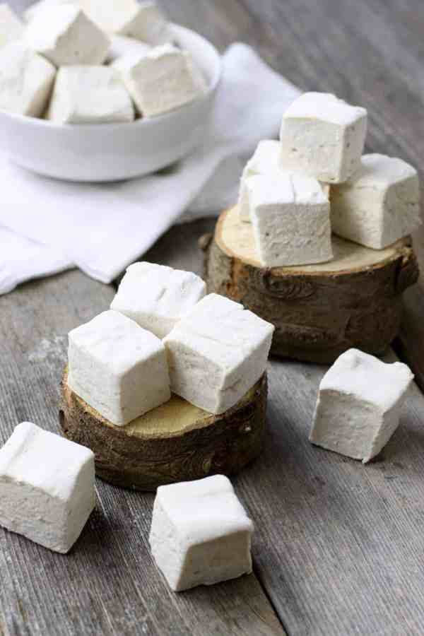 Homemade Marshmallows | https://therealfoodrds.com/homemade-marshmallows/