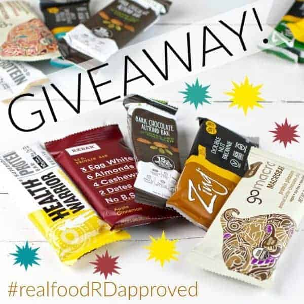 Healthiest Protein Bars Giveaway