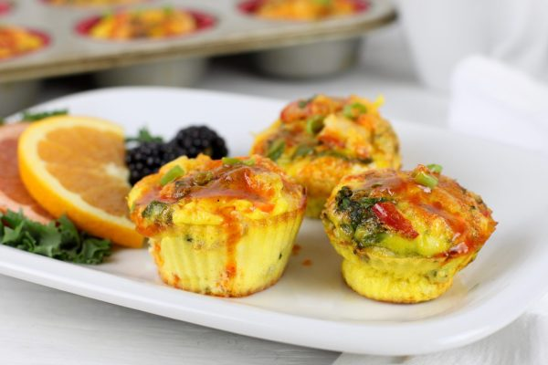 Buffalo Chicken Egg Muffins   The Real Food Dietitians   https://therealfoodrds.com/buffalo-chicken-egg-muffins/