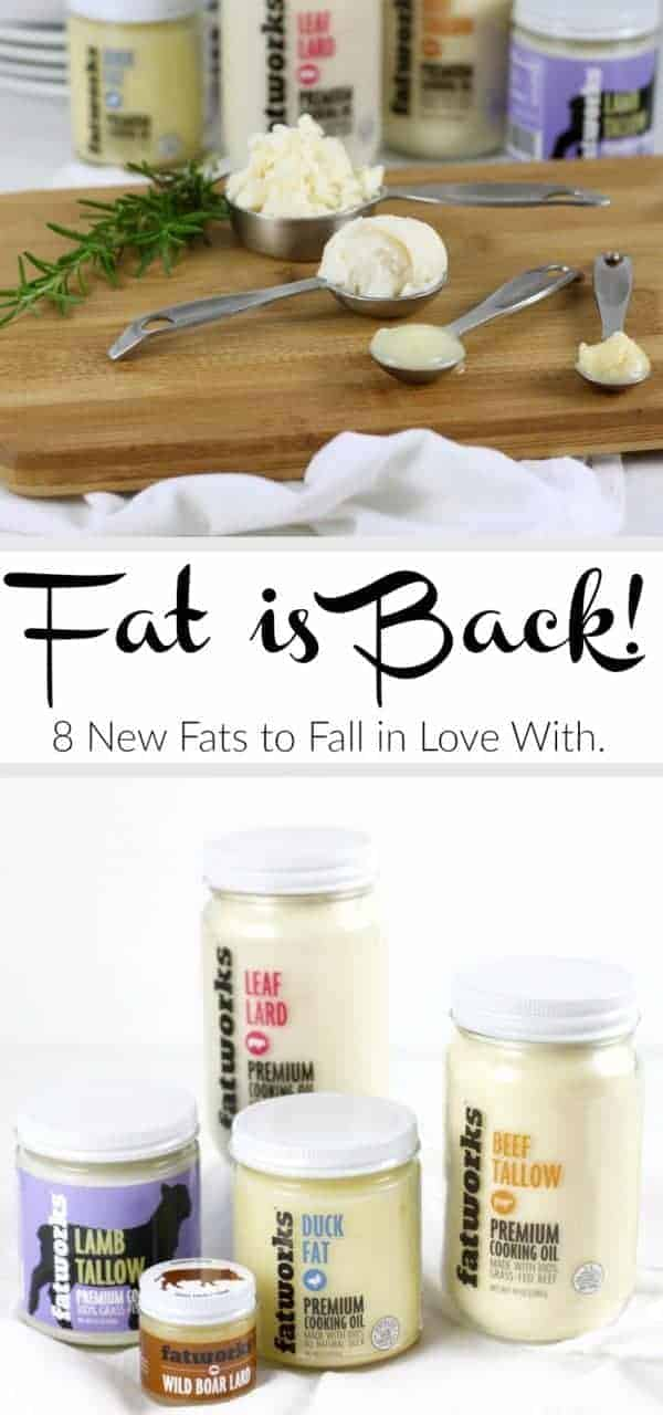 Fat is Back! 8 new fats to fall in love with. | therealfoodrds.com