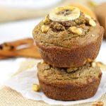 Grain- free Sweet Potato Banana Nut Muffins