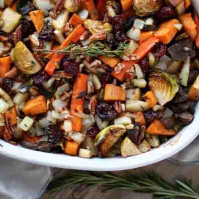 Sweet Potato Unstuffing