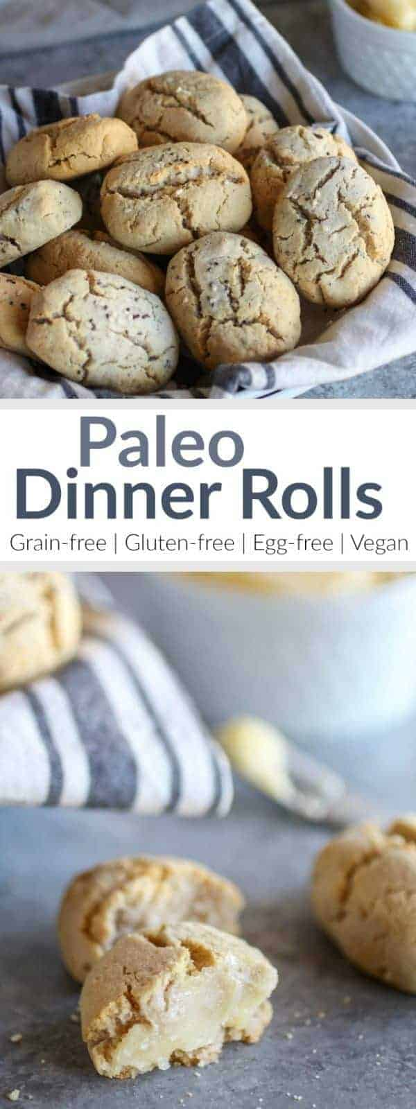 An allergy-friendly, paleo dinner roll recipe for ALL to enjoy   These Paleo Dinner Rolls are grain-free, gluten-free, egg-free, vegan-option and nut-free option   therealfoodrds.com