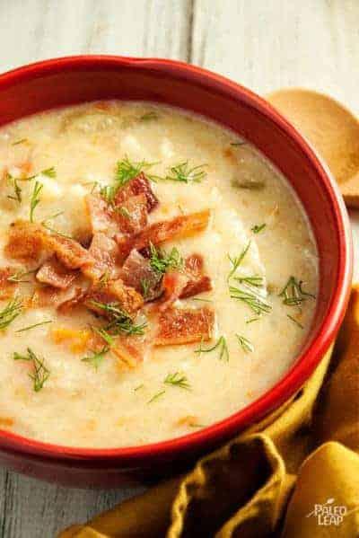 cauliflower-bacon-chowder