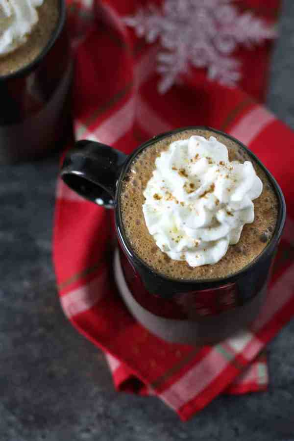 Dairy-free Gingerbread Hot Cocoa   The Real Food Dietitians   http://therealfoodrds.com/dairy-free-gingerbread-hot-cocoa/